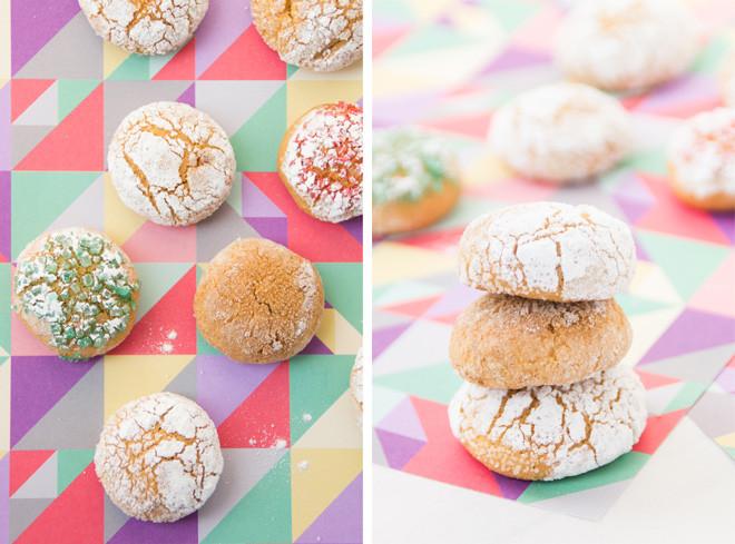 Crinkle cookies o coriandoli?